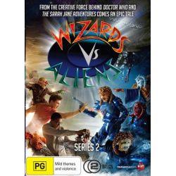 Wizards vs Aliens on DVD.