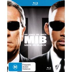Men in Black on DVD.