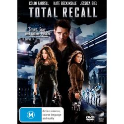 Total Recall (2012) on DVD.