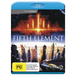 The Fifth Element on DVD.