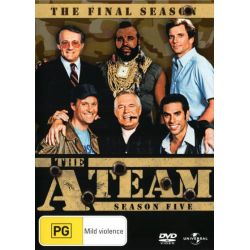 The A-Team on DVD.