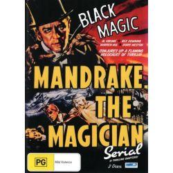 Mandrake, The Magician on DVD.
