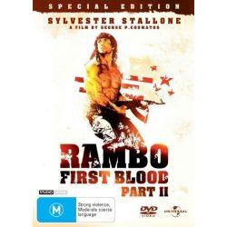 Rambo on DVD.