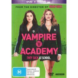 Vampire Academy (DVD/UV) on DVD.