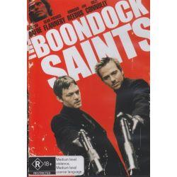 The Boondock Saints on DVD.