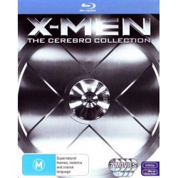 X-Men Cerebro Collection on DVD.