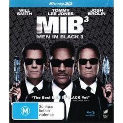 Men in Black 3 (3D Blu-ray) on DVD.