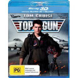 Top Gun (3D Blu-ray/Blu-ray) (2 Discs) on DVD.