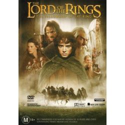 The Lord of the Rings on DVD.