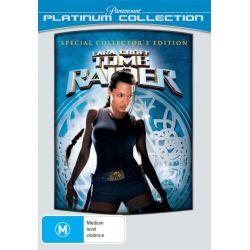Lara Croft Tomb Raider (Platinum Collection) on DVD.