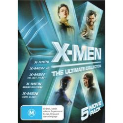 X-Men Ultimate Collection on DVD.