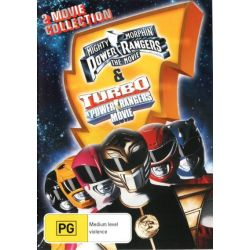 Mighty Morphin Power Rangers on DVD.