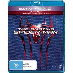 The Amazing Spider-Man / The Amazing Spider-Man 2 on DVD.