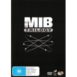 Men in Black Trilogy (Men in Black / Men in Black 2 / Men in Black 3) on DVD.