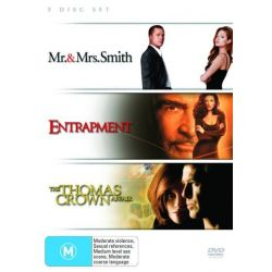Mr & Mrs Smith / Entrapment / Thomas Crown Affair (1999) (3 Disc Set) on DVD.