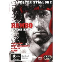 Rambo Quadrilogy (First Blood / First Blood on DVD.