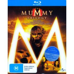 The Mummy Trilogy (The Mummy / The Mummy Returns / The Mummy on DVD.