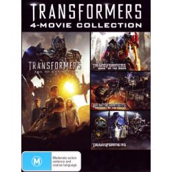 Transformers Movie Collection (All 4 Movies) on DVD.