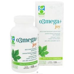 Genuine Health - o3mega+ Joy - 120 Softgels