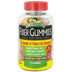 Garden Greens - Fiber Gummies Multi Fruit Flavored - 120 Gummies