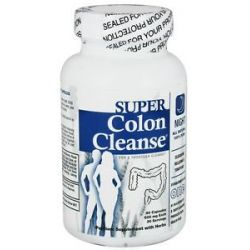 Health Plus - Super Colon Cleanse Night Formula 500 mg. - 90 Capsules 083502087816