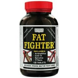 Only Natural Fat Fighter 120 Tablets