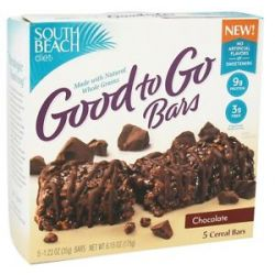 South Beach Diet Good to Go Bars Chocolate 5 Bars