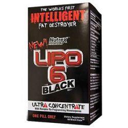 Nutrex LiPo 6 Black Ultra Concentrate 60 Capsules