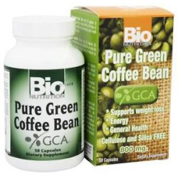 Bio Nutrition Pure Green Coffee Bean 800 MG 50 Capsules