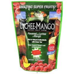Garden Greens Super Fruit Chews Lychee Mango 30 Chew S 035046076689