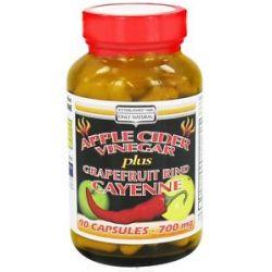 Only Natural Apple Cider Vinegar Plus 700 MG 90 Capsules