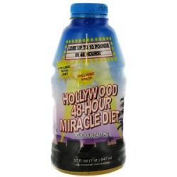 Hollywood Diet Hollywood 48 Hour Miracle Diet 32 Oz