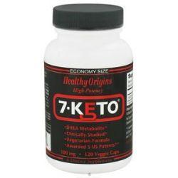 Healthy Origins 7 Keto 100 MG 120 Vegetarian Capsules