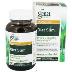Gaia Herbs Diet Slim Liquid Phyto Capsules 60 Vegetarian Capsules