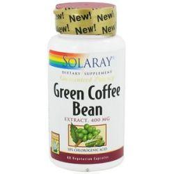 Solaray Green Coffee Bean Extract 400 MG 60 Vegetarian Capsules