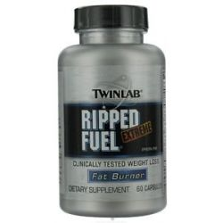 Twinlab Ripped Fuel Extreme Ephedra Free Fat Burner 60 Capsules