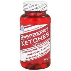 Hi Tech Pharmaceuticals Raspberry Ketones 125 MG 90 Capsules 853598003072