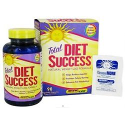 Renew Life Total Diet Success Natural Weight Loss Formula with Svetol 90