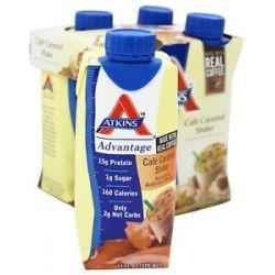 Atkins Nutritionals Inc Advantage RTD Shake 11 oz Cafe Caramel Latte 4
