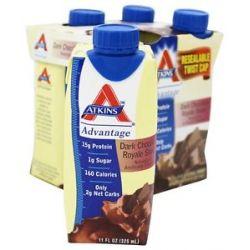 Atkins Nutritionals Inc Advantage RTD Shake 11 oz Dark Chocolate Royale