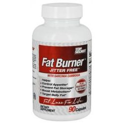 Top Secret Nutrition Fat Burner Jitter Free with Garcinia Cambogia 90