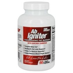 Top Secret Nutrition AB Igniter Thermogenic Fat Burner with Garcinia Cambogia