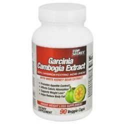 Top Secret Nutrition Garcinia Cambogia Extract with White Kidney Bean Extract