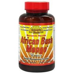 Dynamic Health African Bush Mango with Irvingia Weight Management Formula 60