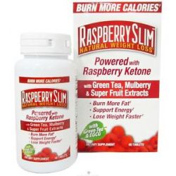 Raspberry Slim Natural Weight Loss System Powered by Raspberry Ketones Green 035046078522