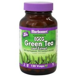 Bluebonnet Nutrition Standardized EGCG Green Tea Leaf Extract 120 Vegetarian