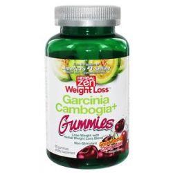 Herbal Zen Garcinia Cambogia Gummies Non Stimulant Cherry Blast 60 Gummies