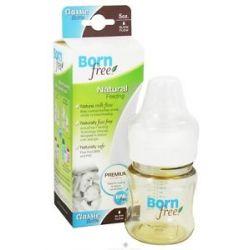 Bornfree Classic Bottle with Slow Flow Nipple BPA Free 5 oz CLEARANCE