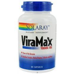Solaray Viramax Yohimbe Free 60 Capsules
