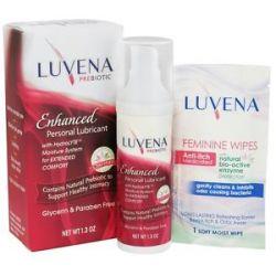 Luvena Prebiotic Enhanced Personal Lubricant 1 3 Oz